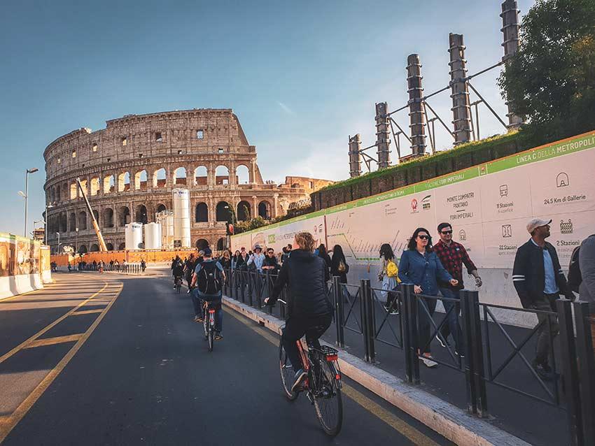 Via Appia Antica en velo