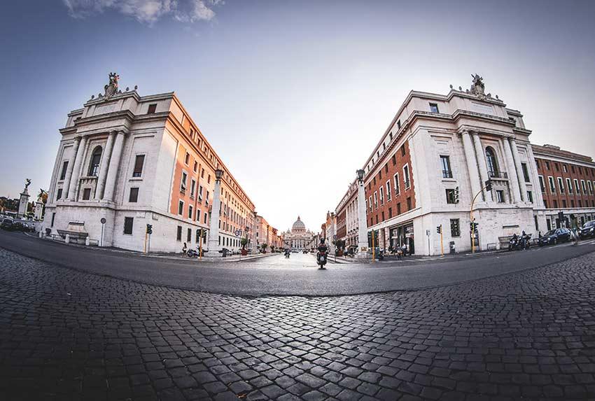 Quartier du Vatican Via della Conciliazione
