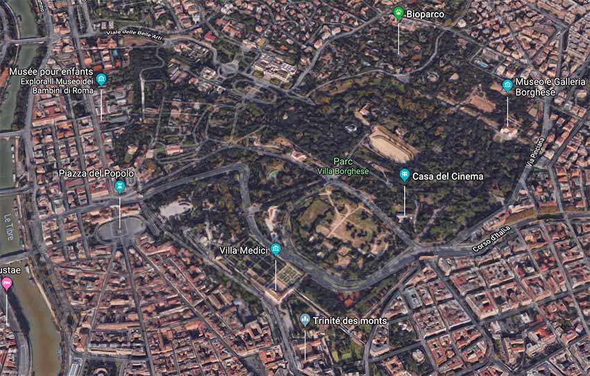 Parc-Villa-Borghese-Rome-plan