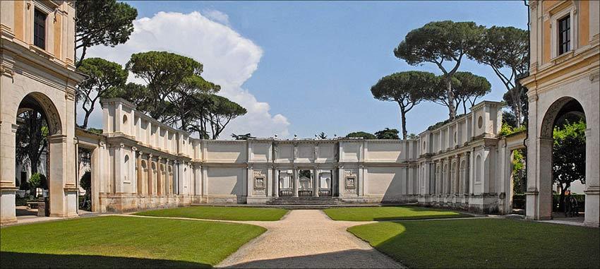 Parc Villa Borghese Rome-villa-giulia