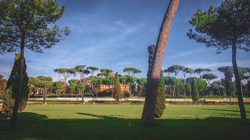 Parc Villa Borghese Rome