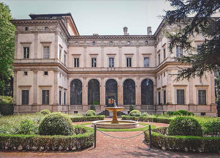 quartier trastevere villa Farnesina