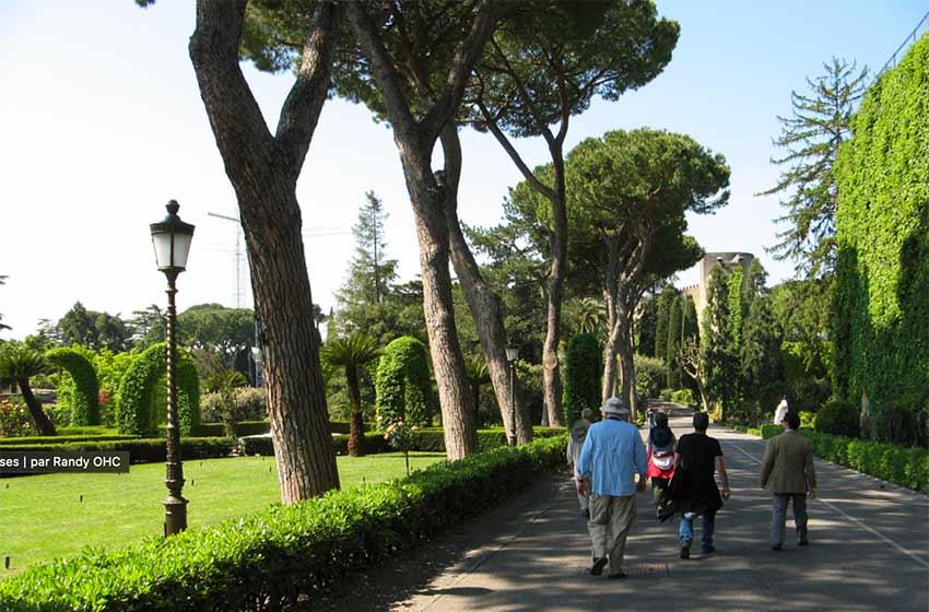 Billet Chapelle Sixtine Vatican jardin