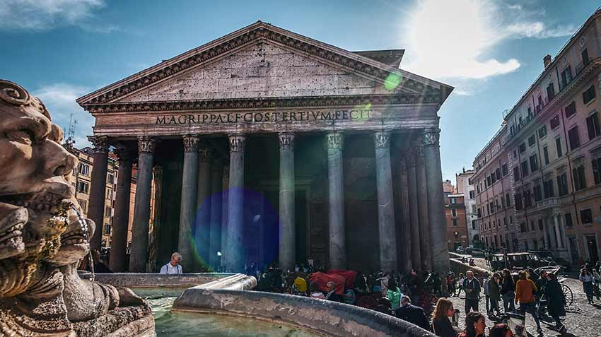 carte pass rome pantheon